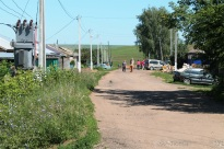 Promenade dans les rues de Kigbaevo